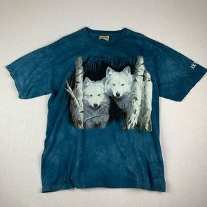 Vintage 90s The Mountain Tie Dye Nature T Shirt